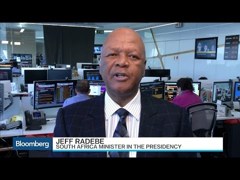 South Africa's Jeff Radebe Talks Vision 2030 Economic Plan
