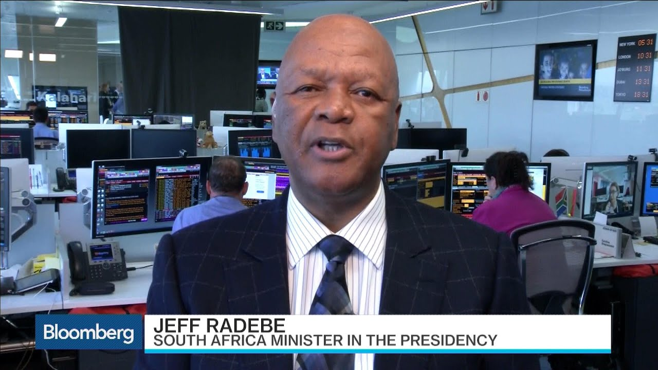 south africa s jeff radebe talks vision 2030 economic plan youtube