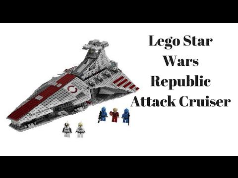 Lego Star Wars Venator Republic Attack Cruiser Review Set #8093 ...