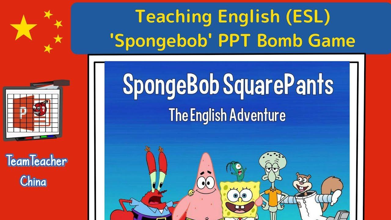 SpongeBob SquarePants PPT Game (Powerpoint Game)