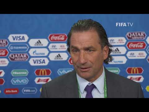 Juan Antonio PIZZI – Saudi Arabia - Final Draw Reaction