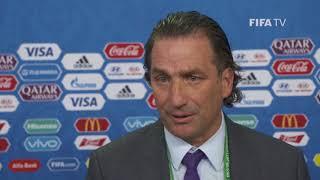 Juan Antonio PIZZI – Saudi Arabia - Final Draw Reaction