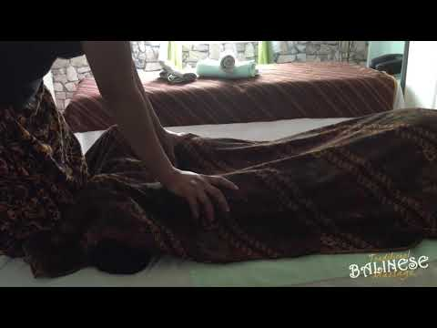 Balinese Massage Technique | Traditional Balinese Massage