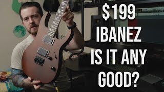 $199 Ibanez guitar - is it good?