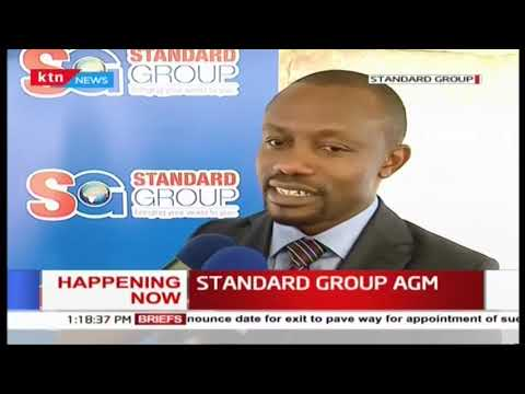 CEO Orlando Lyomu on the status of Standard Group as AGM underway
