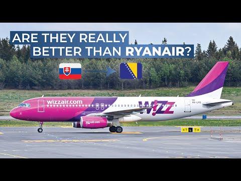 TRIPREPORT | WizzAir (Economy) | Bratislava - Tuzla | Airbus A320
