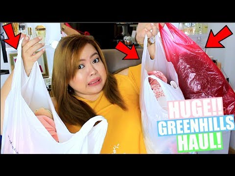Huge Greenhills Haul Murang Plus Size Clothes Jewelry