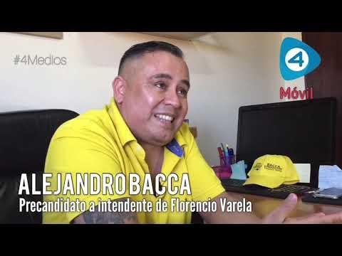 """Alejandro Bacca, precandidato a intendente de Florencio Varela: """"El que me vote a mí, va a ganar"""""""