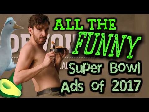 ALL THE FUNNY Super Bowl Commercials of 2017 | Official HD Big Game Ads | (Superbowl LI) ✔