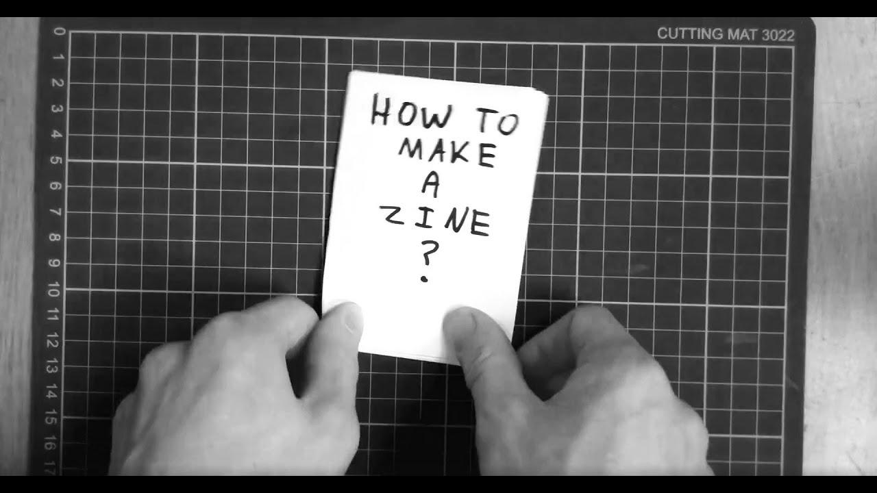 How to make a zine?