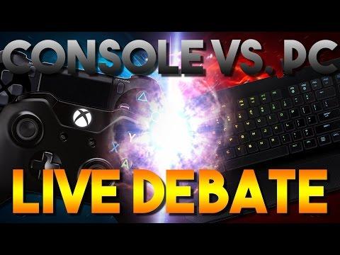 Live Debate With Mr.Noobtubegamer: Console V.S. PC
