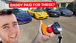 HOW YOUTUBE BOUGHT ME $1,000,000 WORTH OF SUPERCARS BY THE AGE OF 25!