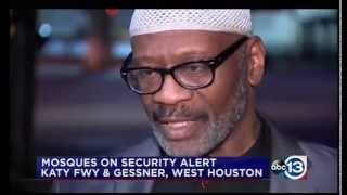 Video: CAIR-Houston Rep Seeks Police Protection for Mosques Against Armed Anti-Islam Rallies