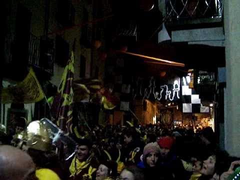Carnevale Storico d'Ivrea - Marcia dei Mercenari - 05/03/2011