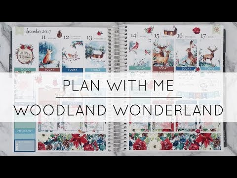 Plan With Me | Woodland Winderland Kit (Ft. Tender Designs)