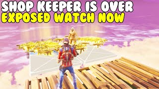 The Shop Keeper is OVER EXPOSED! 😱 (Scammer Gets Scammed) Fortnite Save The World