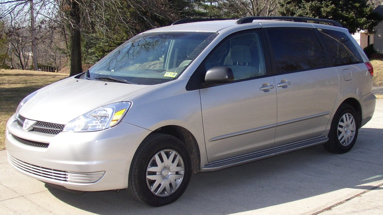 2004 Toyota Sienna Review