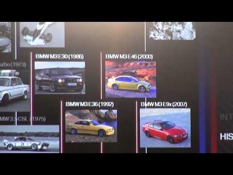 Présentation et historique gamme BMW Motorsport