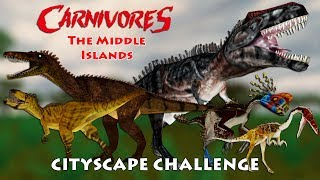 Cityscape Challenge – Carnivores: The Middle Islands | Carnivores Challenges