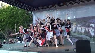 флешмоб 7-я школа Конаково 2018, выпускной 11 класс.