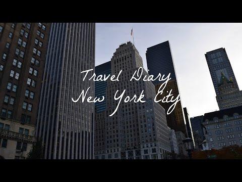 Travel Diary New York City