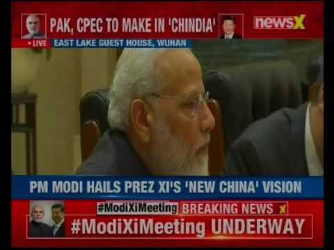 PM Modi meets President Xi Jinping, begins informal talks in Wuhan, China