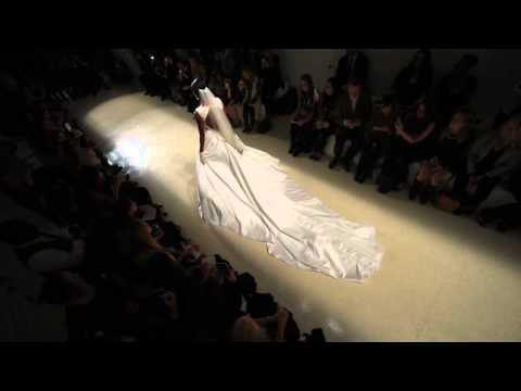 Julie Vino FW16 Bridal  - Runway Fashion Show in NYC - 4 cam edit by FashionStock