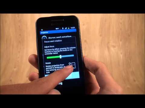 Tinhte.vn - Trên tay Galaxy Beam, điện thoại máy chiếu