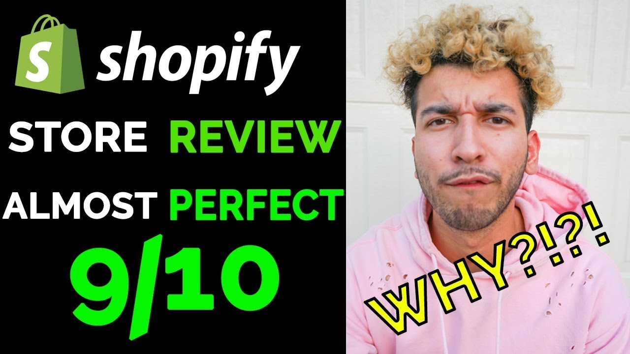 Reviewing Shopify Store - The ALMOST Perfect Store - 9/10 | HONEST Review of a Dropshipping Store