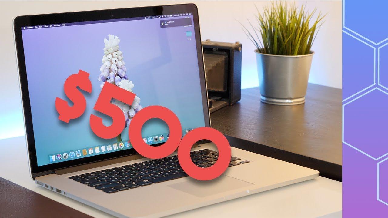 cc42c37a5f3 I bought the cheapest Retina MacBook Pro on eBay! - YouTube