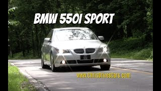 BMW 550i Sport - Video Test Drive and Review