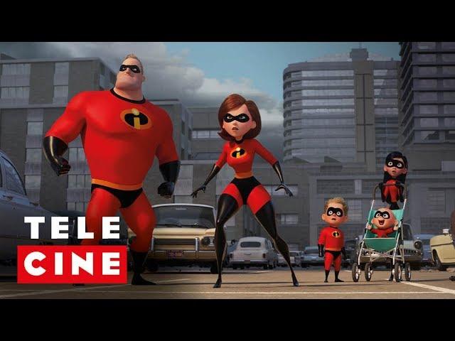 Os Incríveis 2 | Trailer | Telecine