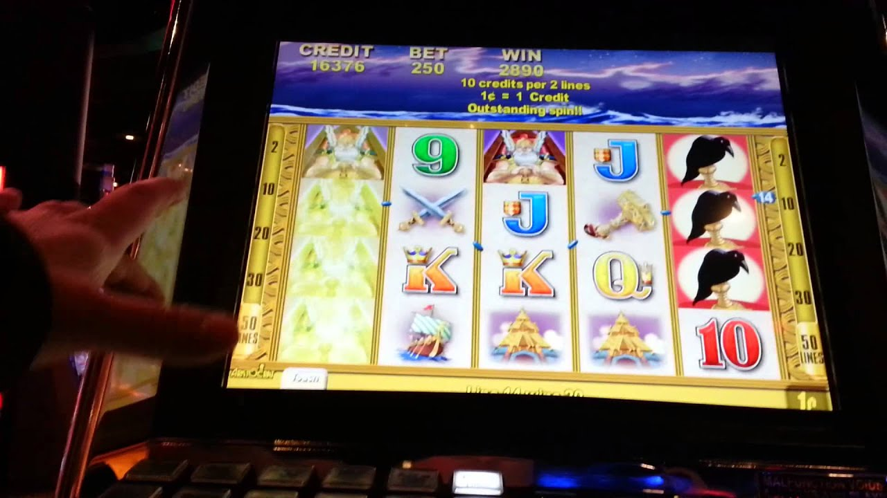Viking Riches 2 50 Bet Hollywood Casino Youtube