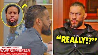 Roman Reigns KICKS OUT Jimmy Uso After DUI Arrest! (WARNING SENT)