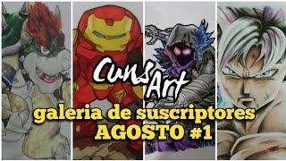 GALERIA DE DIBUJOS DE  SUSCRIPTORES CunsArt | CunsArt suscriber´s drawings gallery