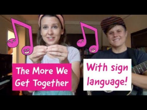 """A Song and a Tip to Reinforce the Baby Sign Language for """"MORE"""""""