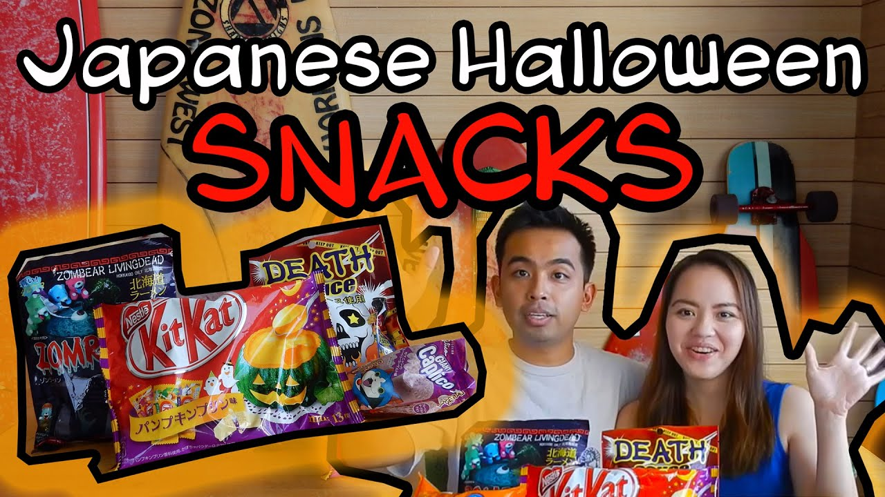 Download What to eat in Japan | Halloween Snacks | Couple Travel Vlog