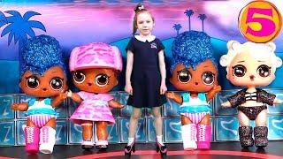Игры одевалки с Соней - КУКЛЫ ЛОЛ НА ПОКАЗЕ МОД - Видео для девочек