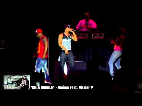 "Romeo Feat. Master P ""ON A BUBBLE"" (LIVE) Super Jam St. Louis"