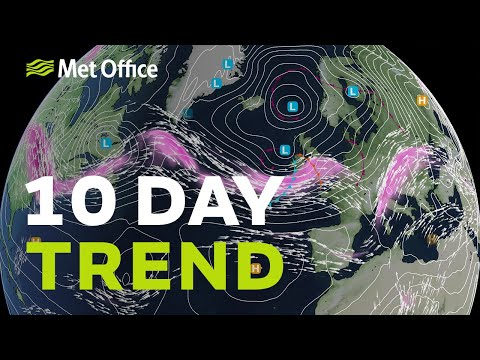 10 Day Trend – Wet and wild back to calm and dry