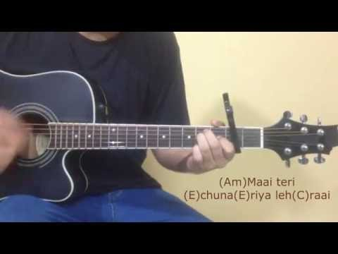 Chunar Guitar Tutorial || Disney's ABCD 2 || Varun Dhawan - Shraddha Kapoor || Arijit Singh