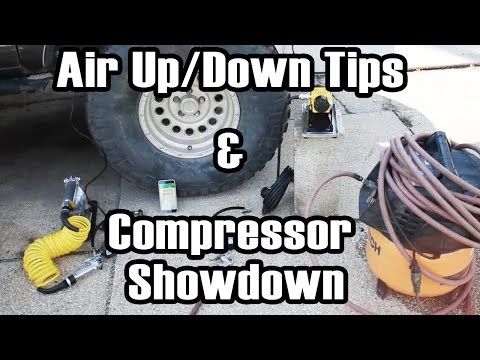 Airing Up/Down Tips & Air Compressor Battle