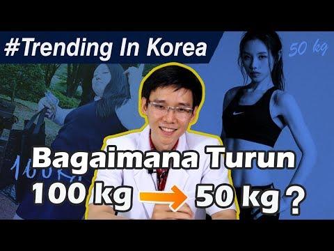 Bagaimana Menurunkan Berat Badan Dari 100 kg Menjadi 50 kg