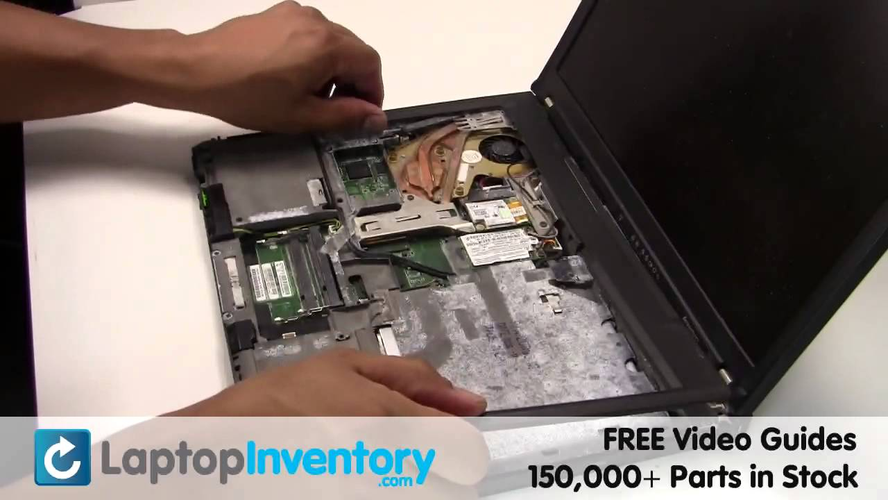 Ibm Lenovo Cpu T60 T61 Replacement Guide Install Replace