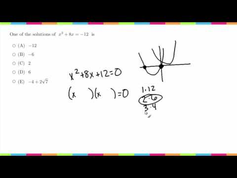 MDTP Mathematical Analysis Readiness Test (MR): Solution to #4