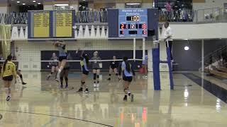 Heritage High School: Girls Varsity Volleyball, Senior Night! 10-18-18