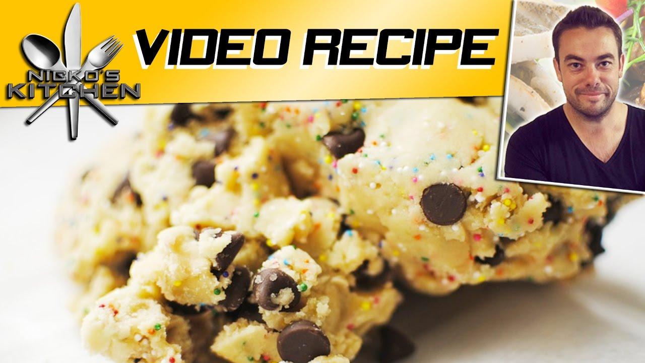 How To Make Edible Cookie Dough Youtube