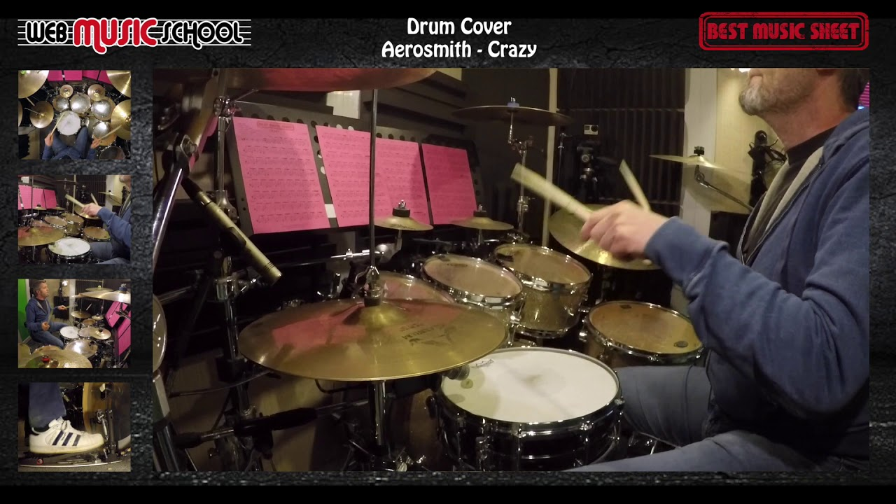 Aerosmith - Crazy - DRUM COVER