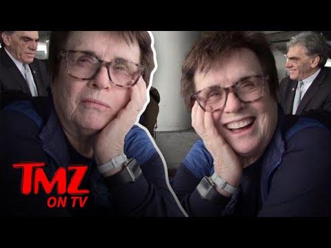 Billie Jean King Vs. Emma Stone: Who Wins A Tennis Match?!  TMZ TV