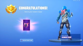Fortnite - Demi Scarlet Edge Backbling! (Full Skin Set!)